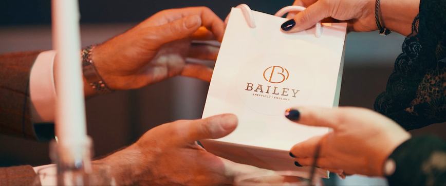 Bailey of Sheffield Gift Vouchers