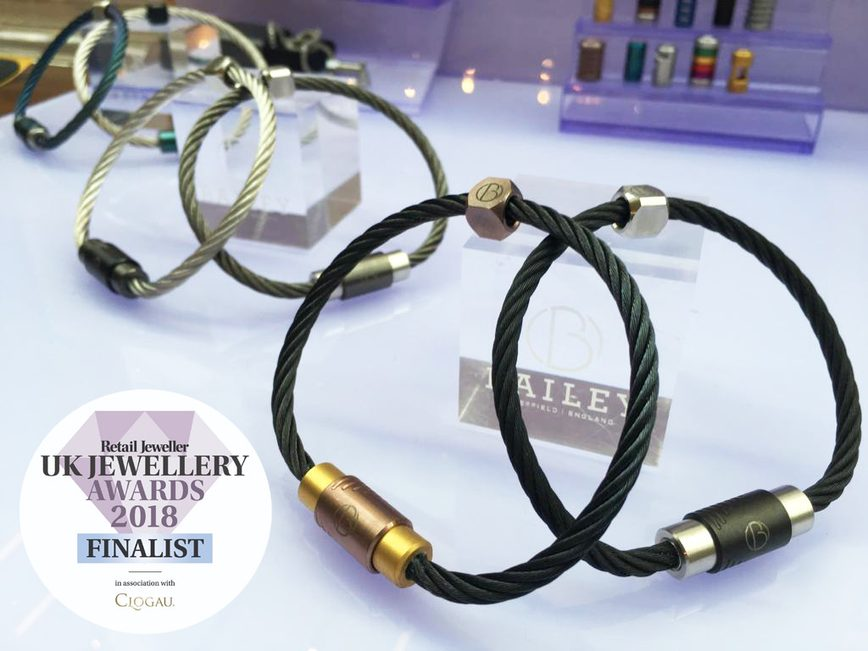 Bailey of Sheffield shortlisted as Brand to Watch at UK Jewellery Awards
